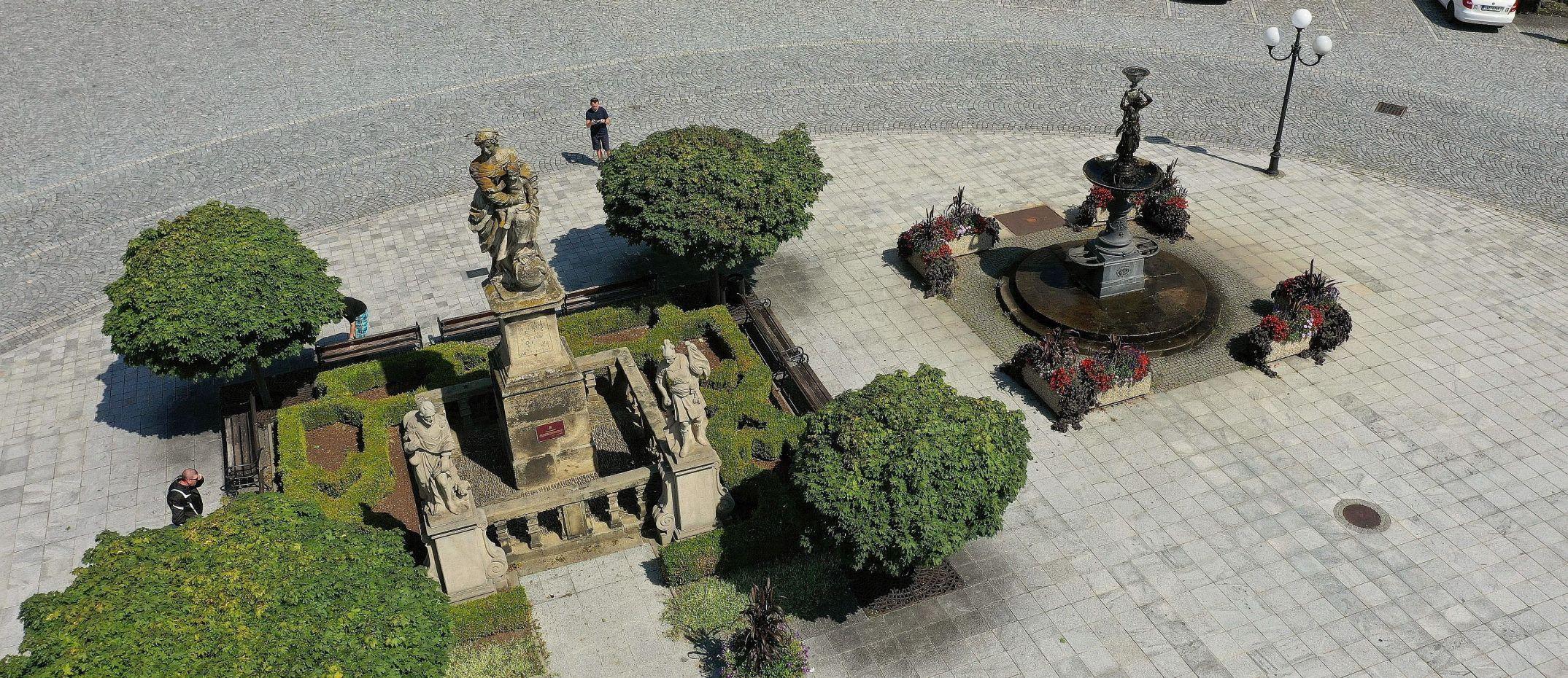 Příbor - náměstí Sigmunda Freuda