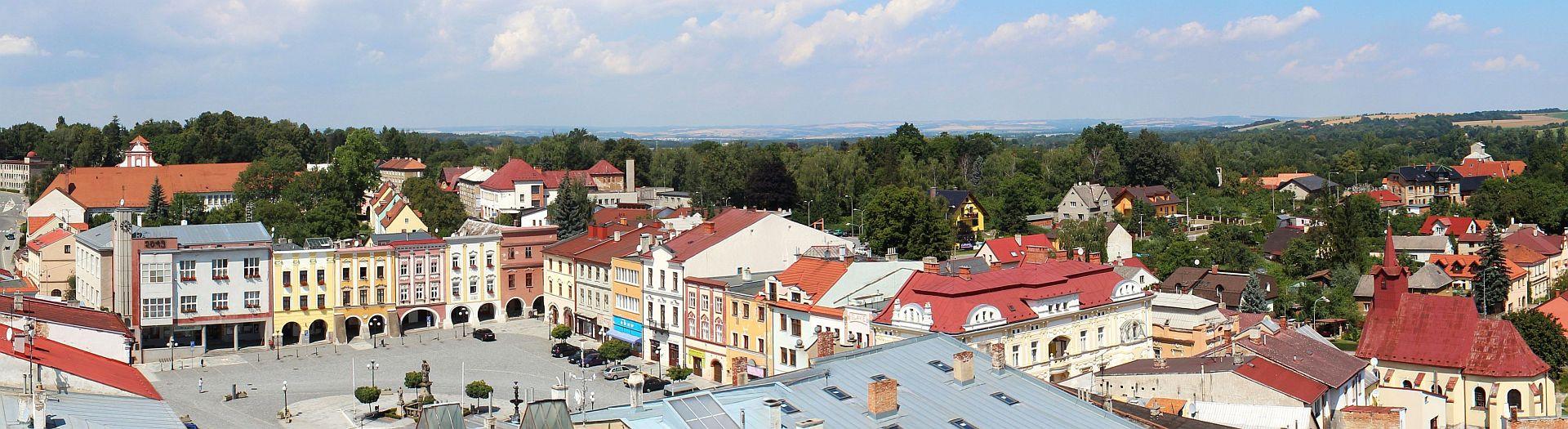 Příbor - město s mnoho památkami