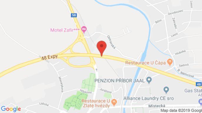Dopravní nehoda u Příbora