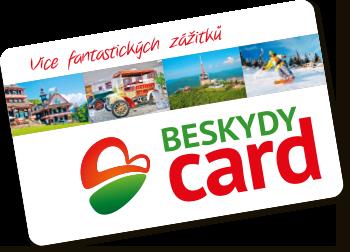 BESKYDY CARD slevová karta do Beskyd