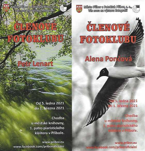 Výstava Alena Pončová a Petr Lenart