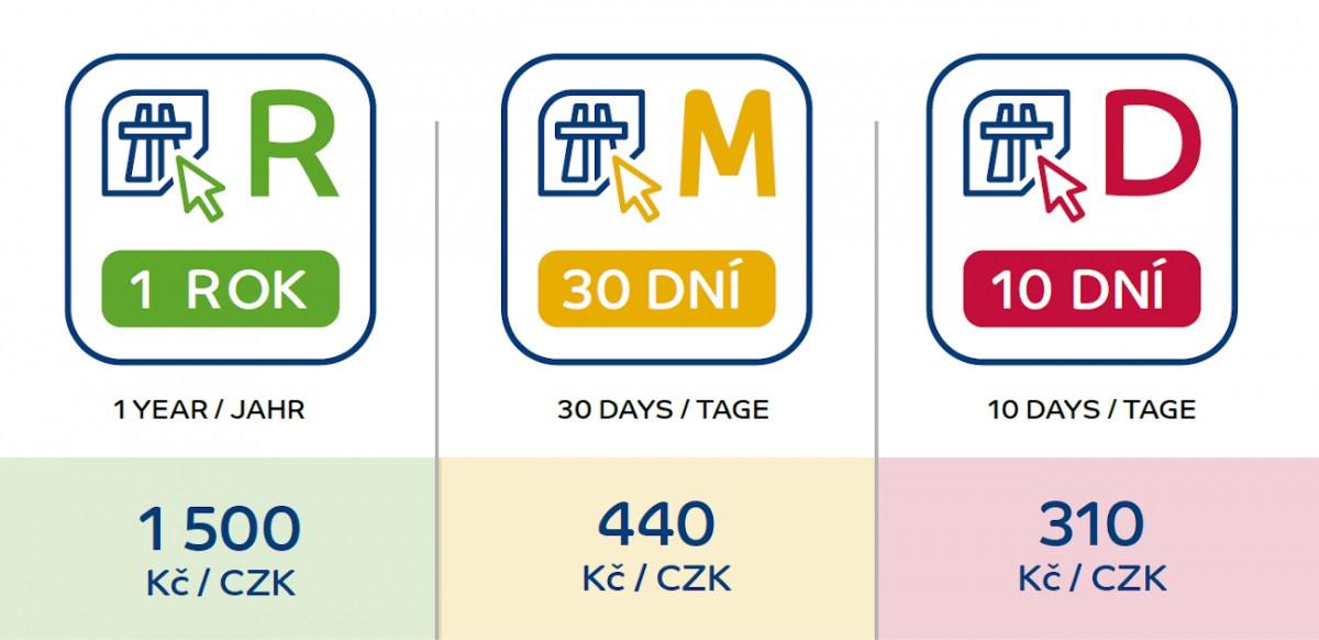 Od února po D48 jen s dálniční známkou d