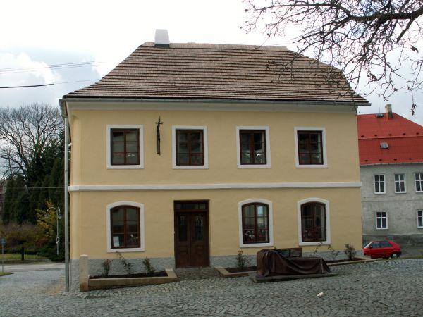 Rodný dům Sigmunda Freuda, zakladatele psychoanalýzy a nejslavnějšího rodáka města Příbora.
