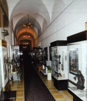muzejní expozice k dějinám Příbora