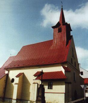 Kostel sv. Kříže prošel během své existence mnoha přestavbami