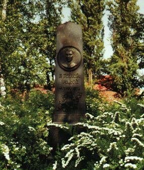 pomník příborského rodáka Tomáše Řehoře Wolného,