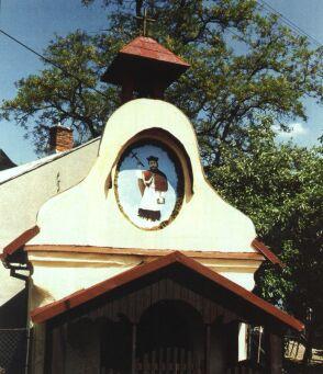 kaplička sv. Jana Nepomuckého v Příboře - Vésce